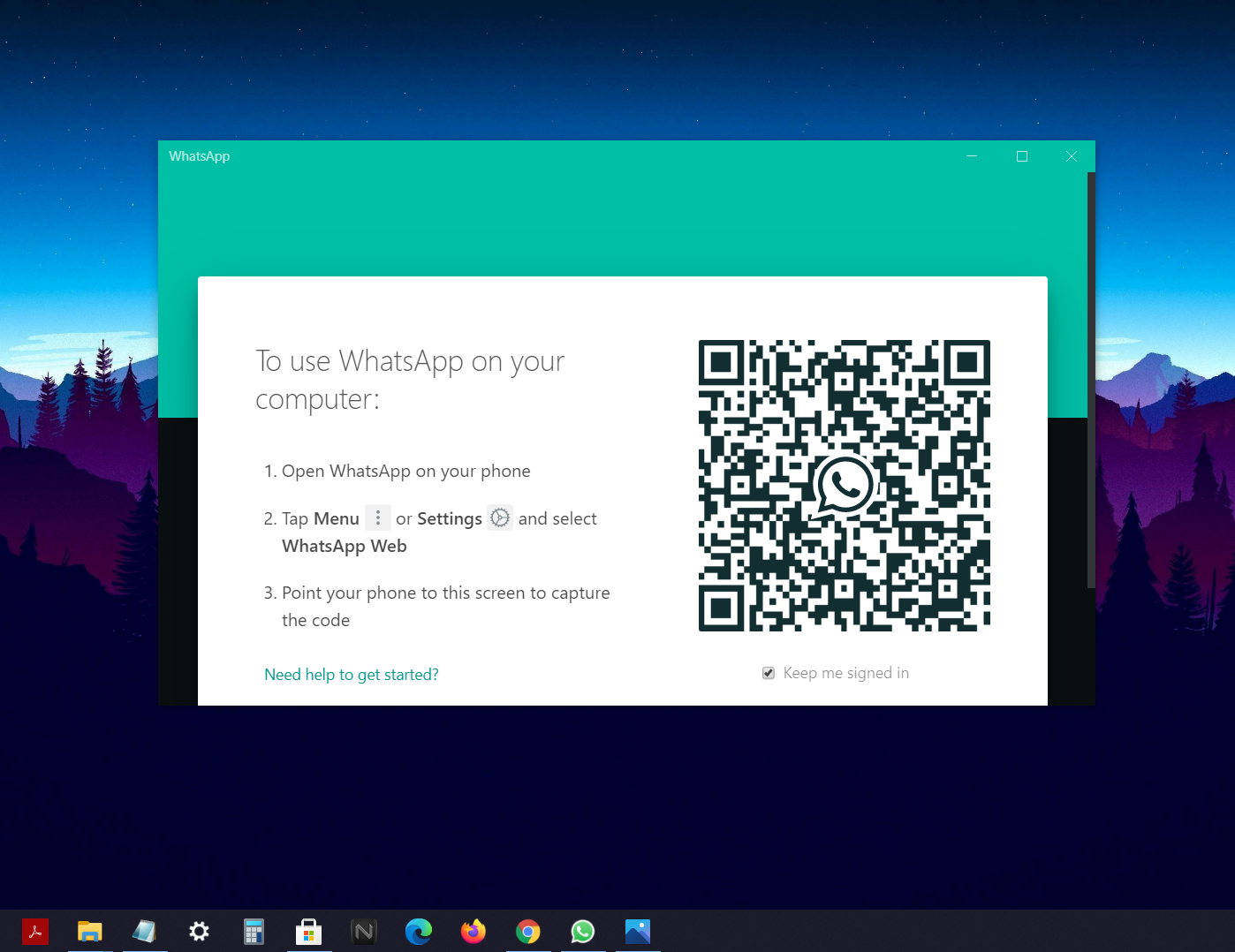 Install WhatsApp on PC 4
