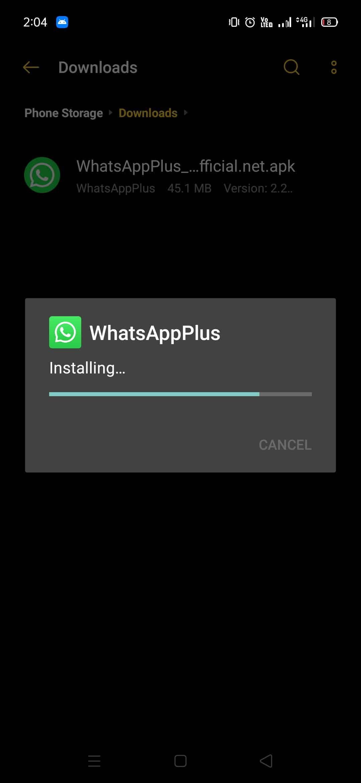 Install WhatsApp Plus 2