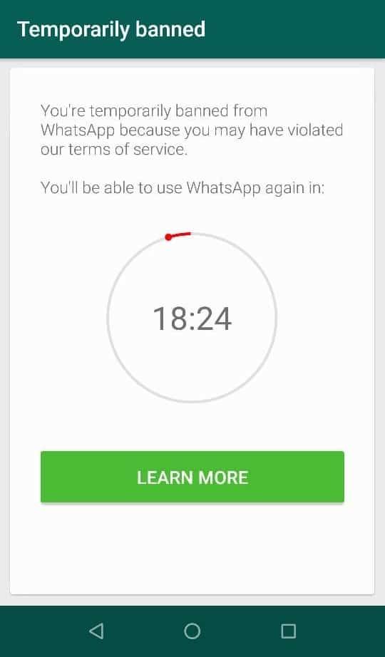 WhatsApp-Account-Banned