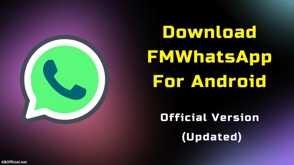 Download FMWhatsApp Plus