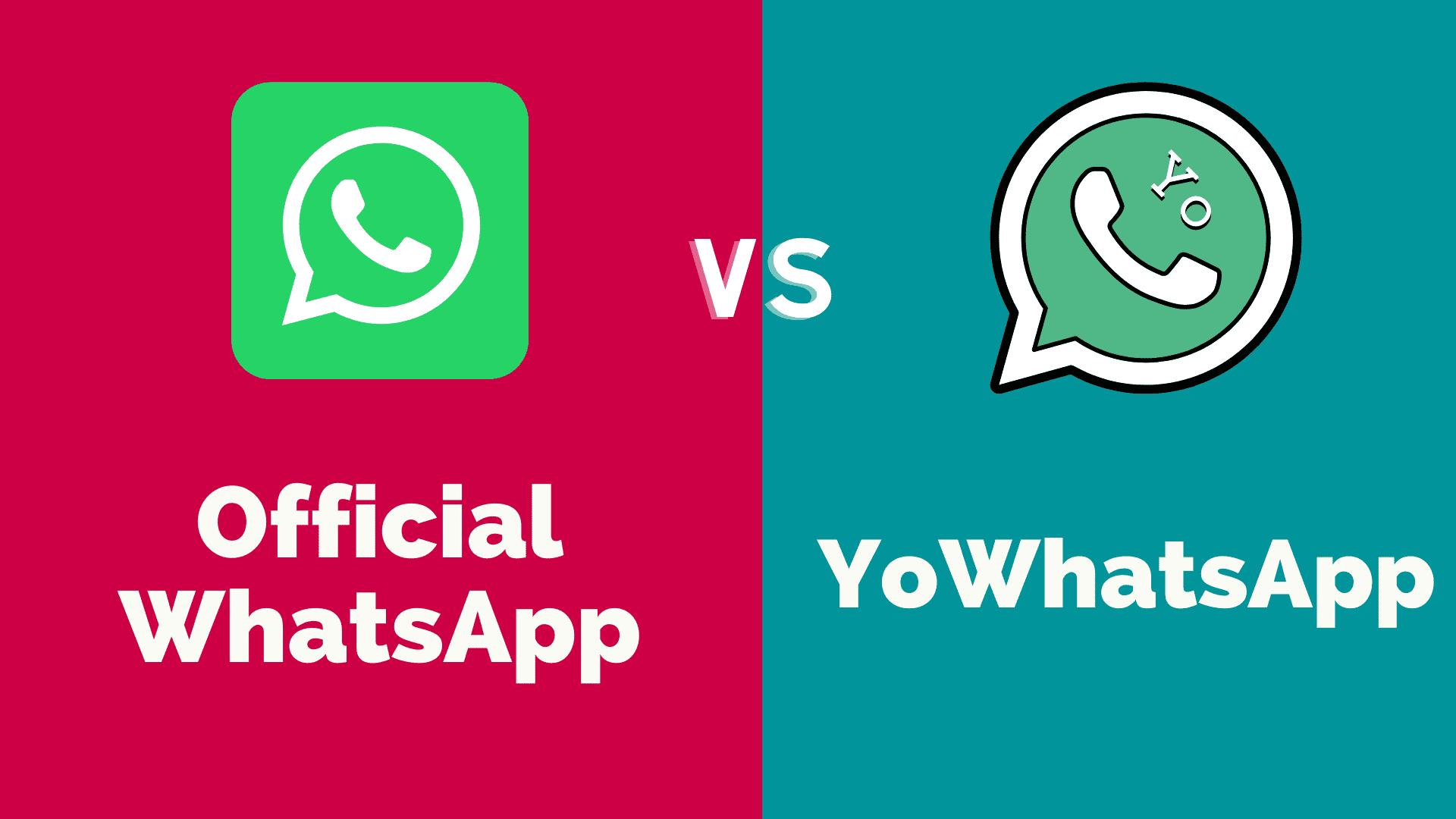 yowhatsapp vs official whatsapp